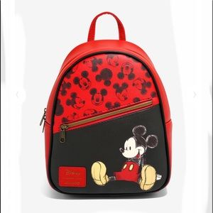Disney Mickey Mouse Loungefly Mini Backpack